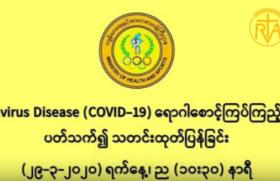 Myenmar Mongndan yvng CORONA Virus i zari vsvng (10) gx i we shvngka