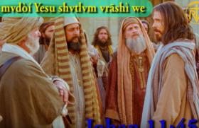Farisi mvdòí Yesu shvtlv́m vrāshì we
